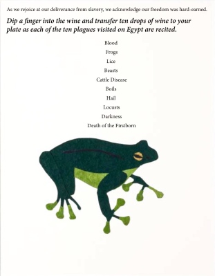 green frog-ten plagues listed